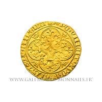 Écu d'or à la couronne, 2ème émission de 1388.