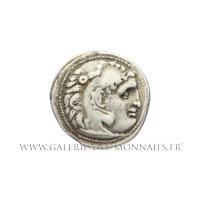 Drachme frappée à Colophon (Ionie) vers 301-297 av. J.-C.