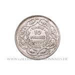 10 Francs 1939 - 1358 AH