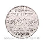 20 Francs 1353 AH (1934)
