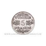 5 Francs 1355 AH (1936)