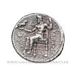 Tétradrachme frappé à Babylone entre 325 et 323 av. J.-C.