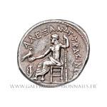 Tétradrachme frappé en Macédoine entre 323 et 320 av. J.-C.