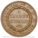 Médaille, passage de Tagliamento et prise de Trieste AN 5, par LAVY