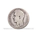 2 FRANCS Charles X 1828 H La Rochelle