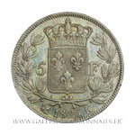 5 FRANCS Charles X, 1er type, 1825 K Bordeaux