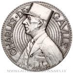 Médaille hommage à Charles de Gaulle 1971, par De JAEGER