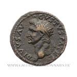 Dupondius de restitution pour Auguste frappé à Rome en 81-82