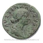 Sesterce frappé à Rome, entre 161 et 175