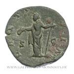 Sesterce frappé à Rome vers 160-175.