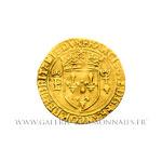 Écu d'or de Bretagne, 2ème type, frappé à Nantes
