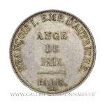 Ange de Paix, module de 5 Francs, 1814 Paris