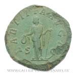 Sesterce frappé à Rome, vers 241-242