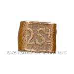 Lingot de cuivre de 2 Stuiver daté 1818
