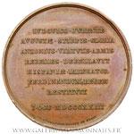 Médaille, Victoire de la guerre d'Espagne et restitution de Ferdinand VII, 1823
