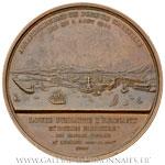 Médaille agrandissement du Port de Marseille 1844, par BOVY