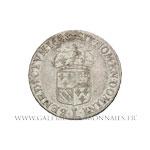 Quart d'écu de Flandre, 1688 L couronné Lille