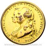 Médaille, mariage de douze filles dotées par les états de Bourgogne par DUVIVIER