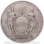 Médaille argent CGT, Services Postaux 30 ans de service 1874-1914, par PAGNIER.