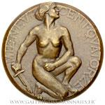 Médaille de la fuite vers l'Yser 1914 (1922-1923), par WISSAERT