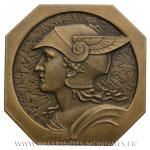 Médaille octogonale, journal Le Petit Provençal Marseille, anonyme non datée