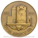Médaille du tricentenaire de la naissance de Michel de Montaigne par G. Guiraud