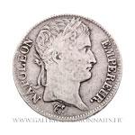 5 FRANCS Napoléon, tête laurée RÉPUBLIQUE, 1808 W Lille