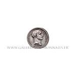 Quinaire en argent du sacre de Napoléon Ier AN XIII, par Jeuffrroy