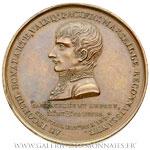 Médaille, colonne de la Fontaine Bonaparte à Marseille AN X, par POIZE