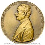 Médaille Paul DESCHANEL Président 1920, par DRIVIER