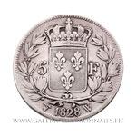 5 Francs 1828 X Lille