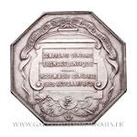 Jeton octogonal argent Assemblée Générale des actionnaires