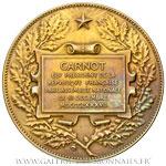 Médaille CARNOT Président 1887, par DUBOIS