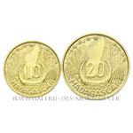 Lot de deux ESSAIS : 10 et 20 Francs 1953