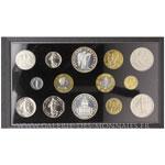 Coffret FDC 1989 comprenant 14 monnaies