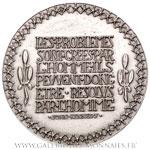 Médaille, hommage à John Fitzgerald KENNEDY, par De JAEGER