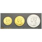 Coffret FDC de 3 essais de Bazor, 5, 10 et 20 Francs 1953